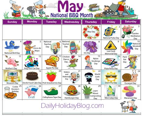 Weird Holidays 2017 | may daily holidays calendar daycare calendar holidays