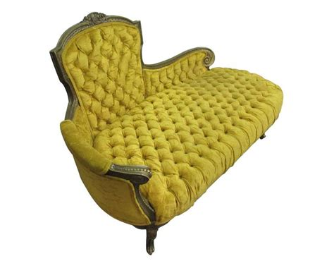 yellow velvet chaise lounge tufted yellow velvet carved chesterfield sofa at