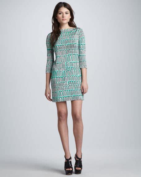 Ruri Dress diane furstenberg ruri spiral printed dress