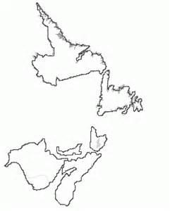 Atlantic Canada Map Outline by Atlantic Canada Health Care Coalition Society