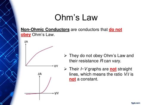 non ohmic resistor definition explain what is meant by a non ohmic resistor 28 images why are semiconductors non ohmic