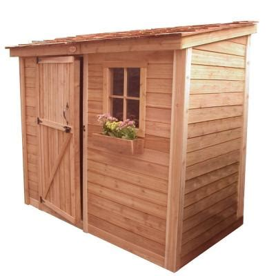 outdoor living today spacesaver 8 ft x 4 ft western