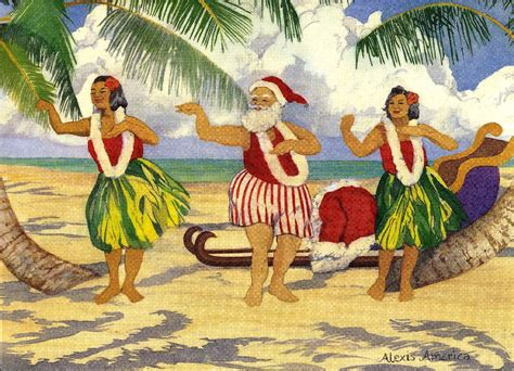mele kalikimaka or merry christmas from hawaii hawaii