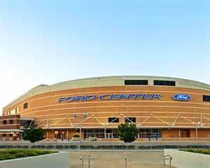 Ford Center Chesapeake Energy Arena Oklahoma Ford Center