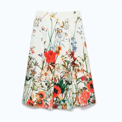 Allover Floral Prints Flatter Lifestyle Magazine 3 by Pleated Floral Print Skirt Endource