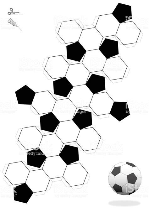 3d soccer ball template printable