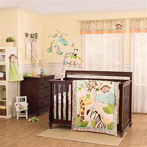 jungle nursery bedding buy kidsline carter s jungle play 4 piece crib bedding set from bed bath beyond