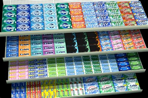 chewing gum brands chewing a single piece of gum for up to 10 minutes can