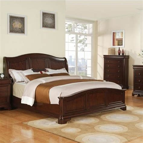 sunset trading ss cm800 q bed cameron bed with