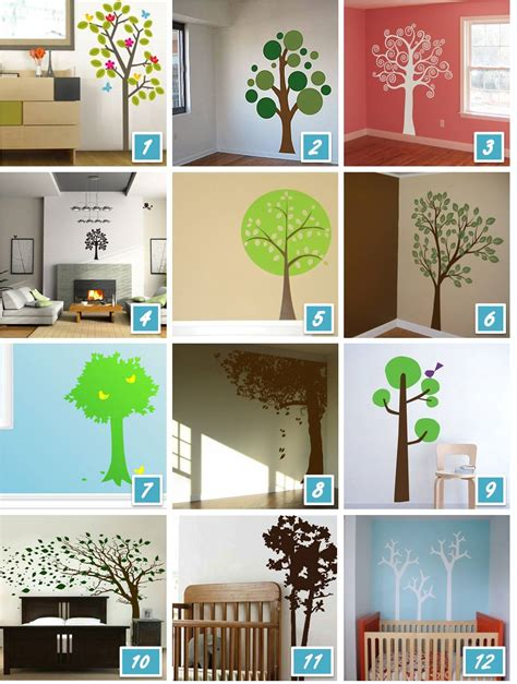 enchanted forest wall stickers the enchanted forest of tree wall decals