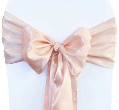blush pink chair sashes blush pink satin chair sashes chair bows ties wedding