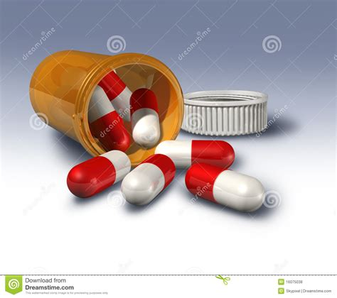 pill bottle prescription drugs royalty free stock photos