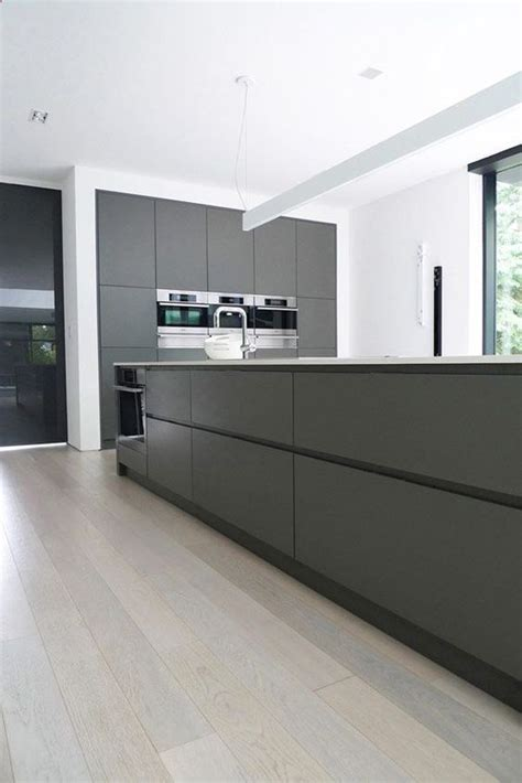 the kitchen islands are done 30 grey kitchens that you ll never want to leave digsdigs
