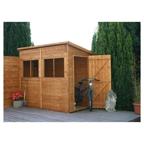buy mercia pent wooden shed 8x4ft from our wooden sheds