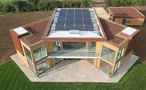 solar home uk s first zero carbon solar house successfully