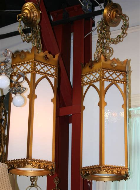 Pair Of Simple Church Lights For Sale Antiques Com Antique Lights For Sale