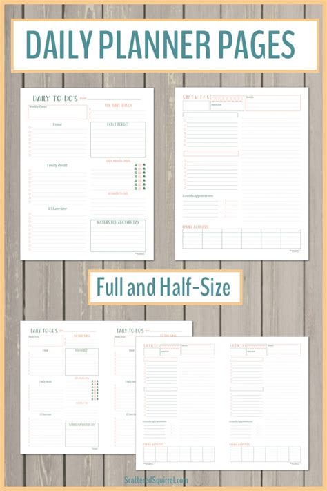 2018 daily planner get done all the basics for setting up your 2018 planner