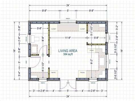 16 X 16 Cabin Floor Plans by 16 X 24 Cabin 16x24 Cabin Floor Plans Small Cabin Layout