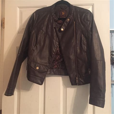 dollhouse jacket 58 dollhouse jackets blazers brown faux leather