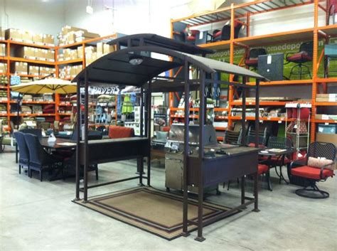 barbecue gazebo home depot gazeboss net ideas designs
