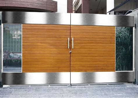 manufacturers  highly durable stainless steel main gates