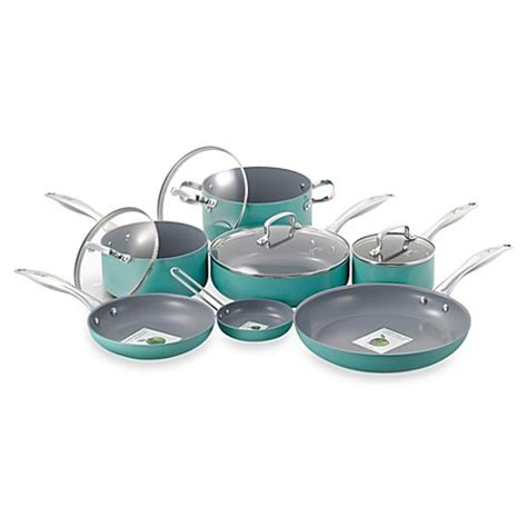bed bath and beyond pots and pans fiesta 174 11 piece cookware sets and open stock bed bath