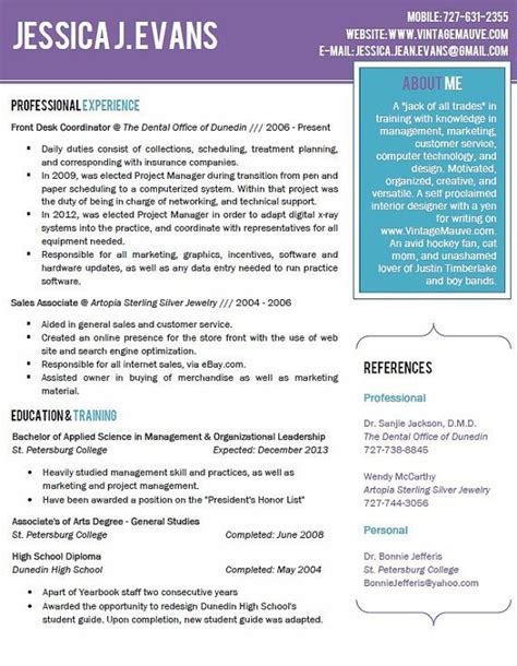 Pretty Resume Templates by Pin Beautiful Fonts Templates Forum Scripts On