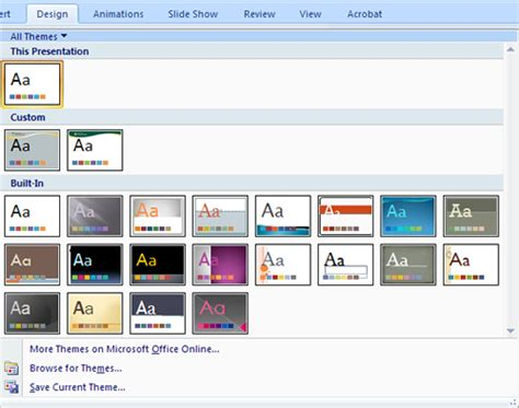 how to create themes for powerpoint 2007 templates in powerpoint 2007 the highest quality