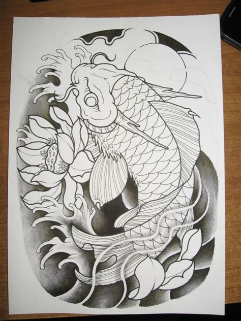 koi fish and dragon tattoo designs best 20 koi ideas on koi