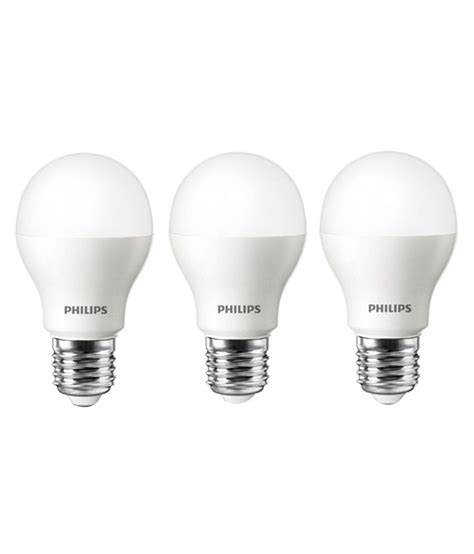 Promo Philips Led 4w Murah philips ace saver e27 4w cool day light led bulb white pack of 3 buy philips ace