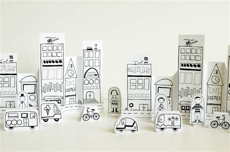 How To Make A City Out Of Paper - made by joel 187 paper city vehicles