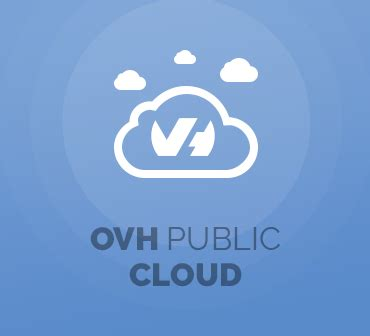 ovh public cloud  whmcs modulesgarden