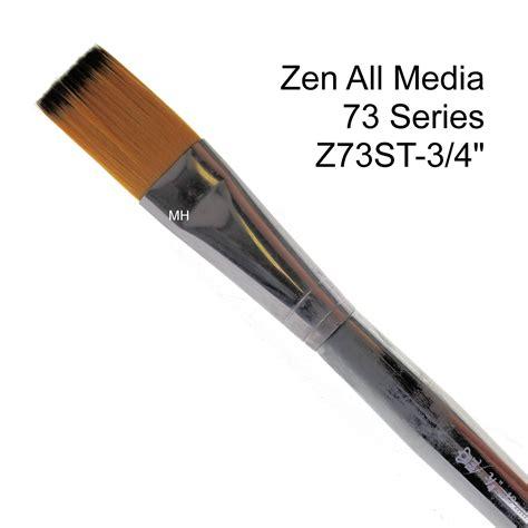 zen acrylic paint brushes royal langnickel zen 73 all media painting artists