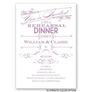 intro rehearsal dinner invitation invitations by