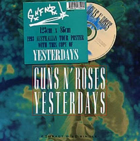 download mp3 guns n roses yesterday guns n roses yesterdays australian cd single cd5 5