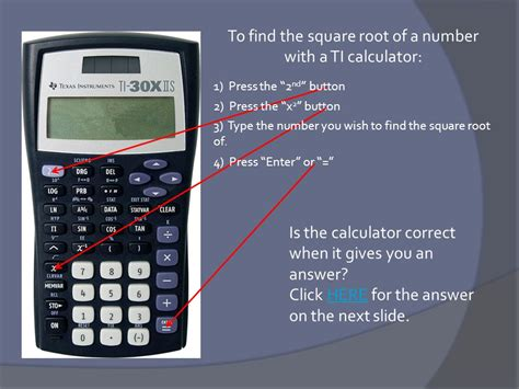 calculator root non perfect squares learning goal ppt video online download