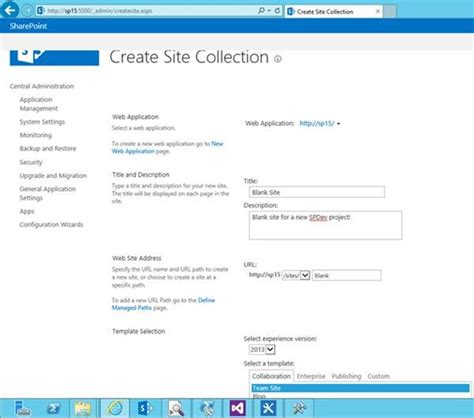 create sharepoint site template creating a clean visual studio solution from a sharepoint