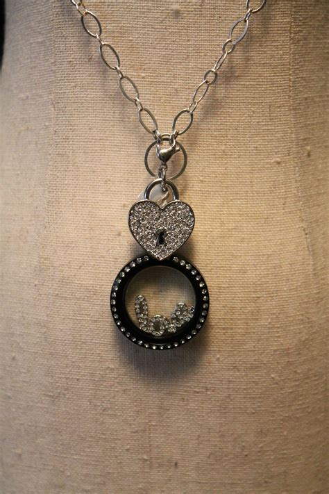 Origami Necklace Locket - my origami owl jewelry bar fall 2013