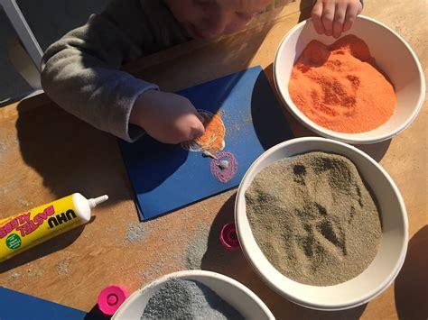 Sand Selber Machen by Sandbilder Selbst Machen Mit Kindern