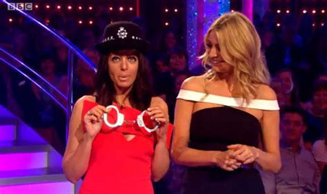 strictly s winkleman gets out handcuffs for gleb
