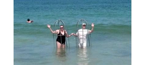Wlns Giveaway - north carolina beachgoers use homemade cages as shield from sharks blogs