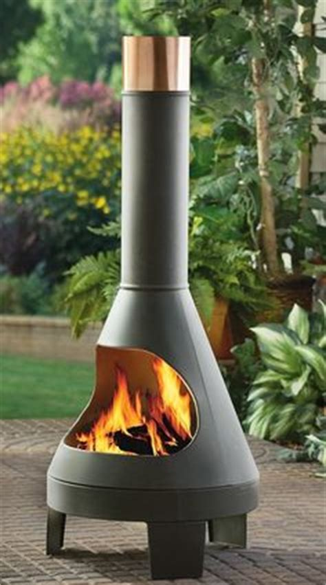Large Contemporary Chiminea Fireplaces Outdoor Pits Chimineas On