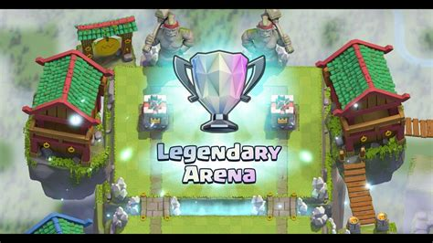 clash royale legendary arena update future  royale