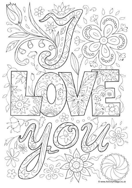 printable coloring pages about love i love you p to the moon and back printable adult coloring
