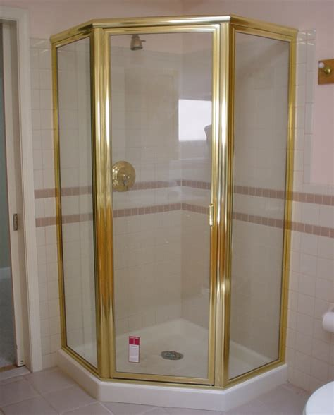 King Glass Shower Door Framed Semi Frameless Shower Door King Shower Door Installations