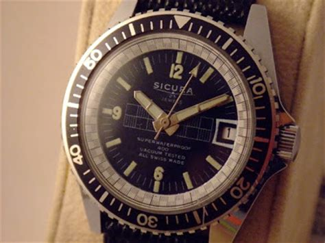the the sicura and breitling story