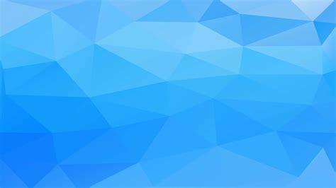 pola biru poligon  wallpapersc desktop