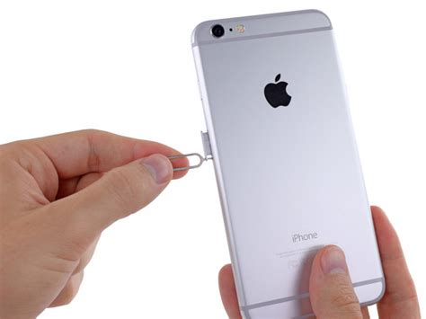 Diskon Iphone 6 Plus 5 5 Sim Card Tray Holder Grey iphone 6 plus sim card replacement ifixit