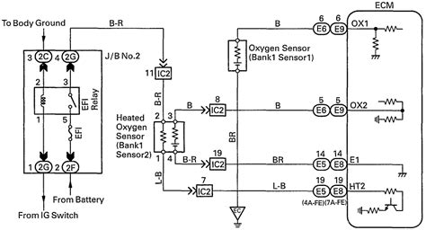 toyota rav4 o2 sensor wiring diagram toyota free engine