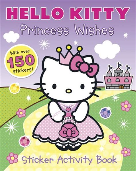 hello how are you books hello princess wishes sticker activity book